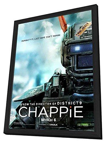 27 x 40 Chappie Póster de la película con marco (2015 ...