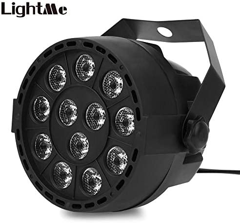 Lights & Lighting Lightme Professional Stage Light Projector 12 Leds Rgbw Color Mixing Par Lamp 8ch Voice Activated Dj Lamp Party Ktv Concert Ligh Outstanding Features