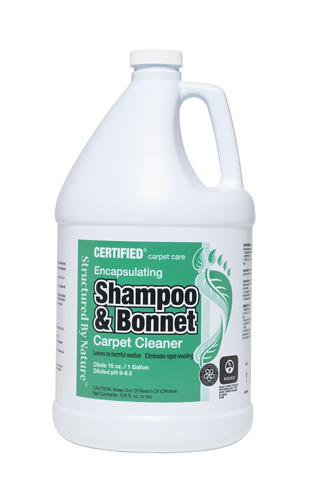 Nilodor 128SBN SHP Encapsulating Bonnet/Spin Shampoo, 1 gal by Nilodor