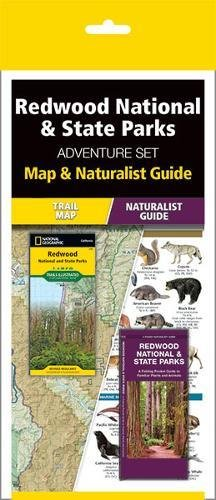 Redwood National & State Parks Adventure Set: Map and Naturalist Guide