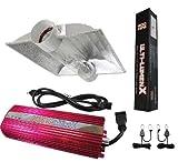 Cheap Ulti-Lumenx GLK600CTH 600 Watt Grow Light Digital Dimmable HPS MH System for Plants 6″ XL Air Cool Tube Hood Set