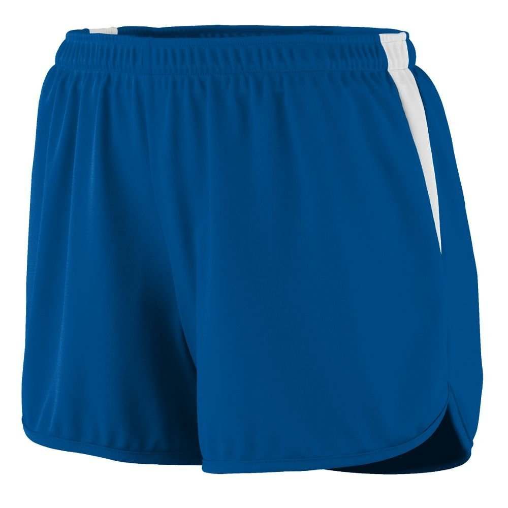 347 AG LAD VELOCITY TRACK SHORT ROYAL/ WHITE 2XL