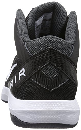 Unisex Air IX Nike Negro Color Zapatillas Overplay Blanco The q6qBA