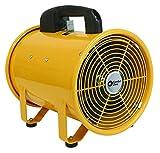 8inch blower fan - Comfort Zone 8 Inch High Velocity Utility Blower Fan (CZBU80)