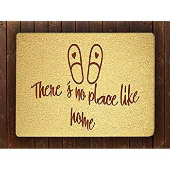 Amazon Com Sofishop There S No Place Like Home Door Mat