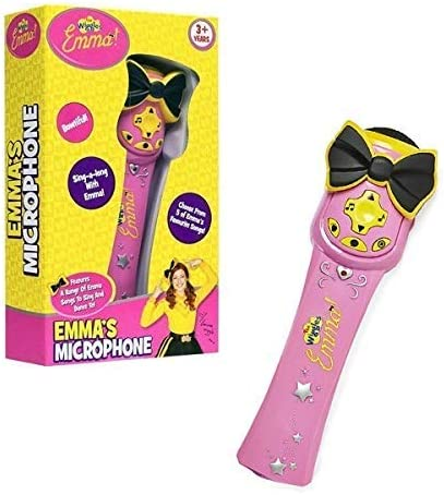 Emma/'s Musical Microphone with 5 Songs Fun Toy for Little Kids The Wiggles