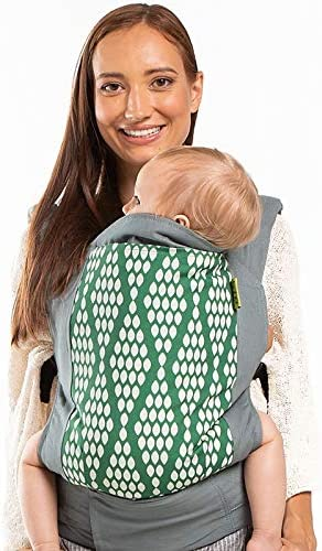 Organic Verde Boba Baby Carrier Classic 4Gs