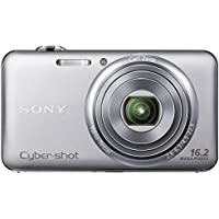 SONY Digital Camera Cyber-shot WX70 (16.20MP CMOS/x5 Optical zoom) Silver DSC-WX70/S