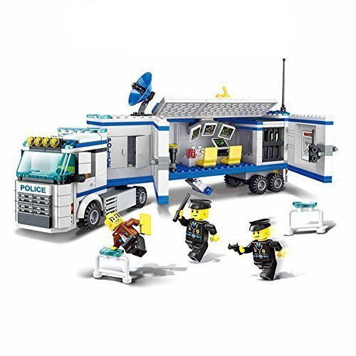 Wange Building Block Super Police Mobile Police Unit #52013 3doll 395pcs by Wange