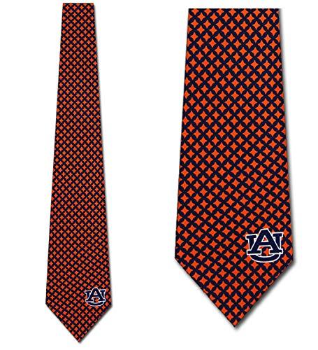 Auburn Ties Mens Diamante Necktie by Eagles Wings