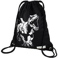 ArmoFit Drawstring Backpack Bag Pocket Waterproof Cinch Sack Sport Gym Bag Kids Boys Women School Party Travel Beach