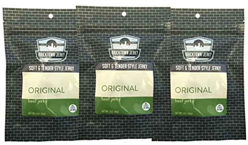 Original Soft and Tender Style Best Beef Jerky - 3 PACK - Try Our Best Tasting Soft Beef Jerky - 9 total oz.