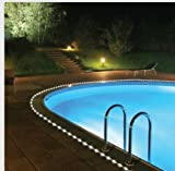 50 Solar Rope Lights Security Pool Outdoor -Party Decorate Garden Luxurious Charming Confident Safe 16.5 Feet Of Lighted Tubing