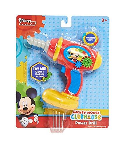 Disney Mickey Handheld Power Drill Playset]()