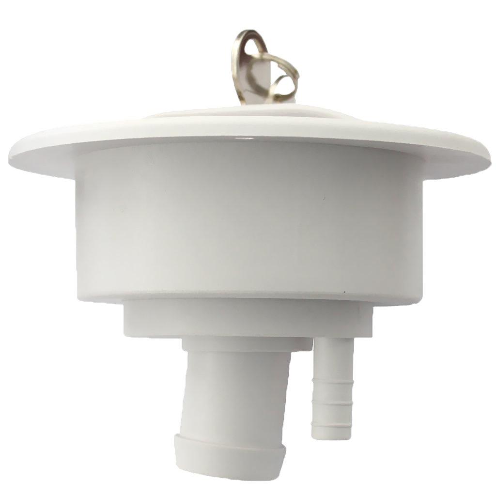 Homyl Trampilla Llenado de Agua para Sistema Purificaci/ón de RV Autocaravana Forma Redonda