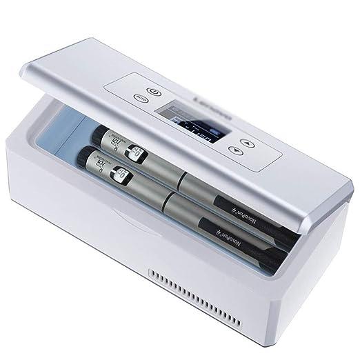 Mini nevera HLF- Caja refrigerada de insulina de Gran Capacidad ...