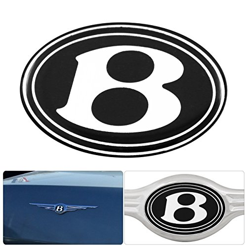 (For Chrysler 300 300C Rear Grille Grill B Logo Emblem Gel Sticker Replacement)