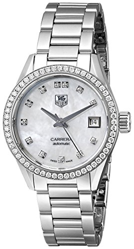 Tag Heuer Women S War2415 Ba0770 Carrera Diamond Accented