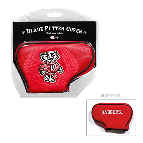 Team Golf NCAA Wisconsin Badgers Blade Putter Cover ()