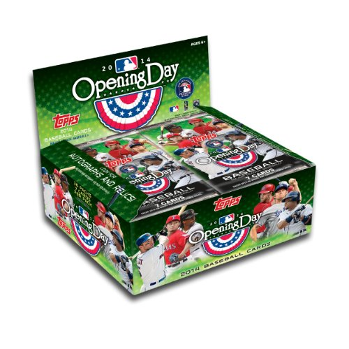 MLB 2014 Topps Opening Day Baseball Retail Trading Cards