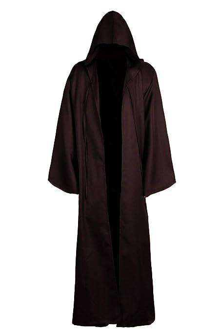 JOYSHOP Men & Kids Tunic Hooded Robe Halloween Cosplay Costume Robe Cloak Cape