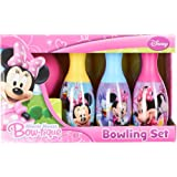 """Minnie Mouse """"Bowtique"""" Bowling Set in Display Box"""