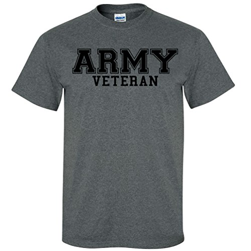 Army Veteran Black Logo Short Sleeve T-Shirt in