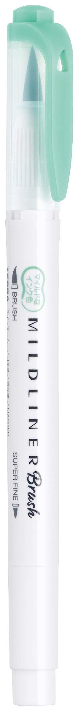 Zebra Pen Mildliner Double Ended Brush and Fine Tip Pen, Assorted Colors, 15-Count by Zebra Pen (Image #3)