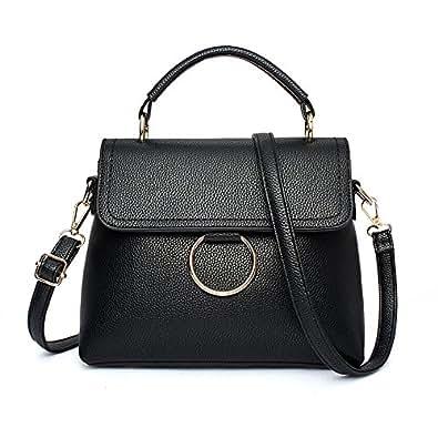 Bag new handbag fashion shoulder bag casual handbag Messenger bag fashion women's bag,black