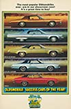 1973 omega - 1973 Oldsmobile Toronado 98 88 Cutlass Omega Large Factory Postcard