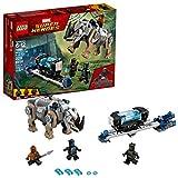LEGO Juego de Construcción Marvel Super Heroes Black Panther Enfrentamiento en la Mina de Rhino (76099)