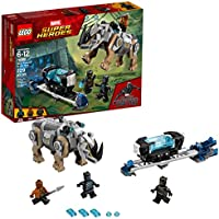 LEGO Marvel Super Heroes Rhino Face-Off by the Mine 76099...