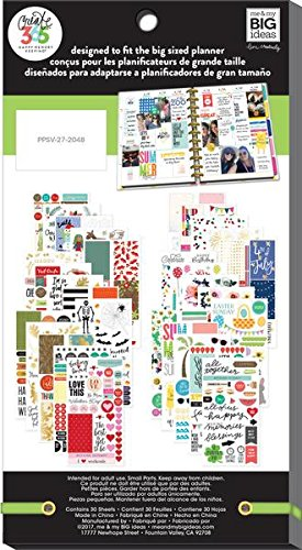 Set of 2 Items Value Pack, 738 Stickers Create 365 Happy Planner Holidays /& Seasonal Super Fun Sticker Bundle MAMBI 26 Stickers /& Super Fun Journaling Stickers