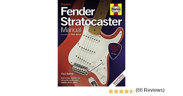 Paul Balmer: Haynes Fender Stratocaster manual (2nd Edition). Para ...
