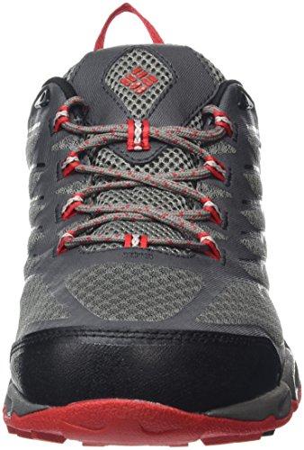 Columbia Ventrailia Ii Outdry, Zapatillas de Deporte para Exterior para Hombre Gris (City Grey, Bright Red 023City Grey, Bright Red 023)