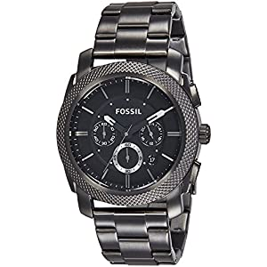 Fossil Chronograph Black Dial Men's Watch – FS4662I