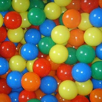 5,5 cm/ Infantastic Pelotas para ni/ños Piscina de Bolas Multicolores 2000 Bolas di/ámetro Aprox 5 Colores