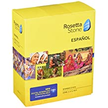 Learn Spanish: Rosetta Stone Spanish (Spain) - Level 1-5 Set (Download Code Included)