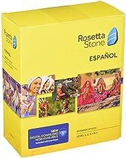 Rosetta Stone Spanish (Spain) Level 1-5 Set
