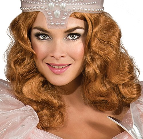 [Rubies Womens Wizard of Oz Glinda the Good Witch Wig Black Medium] (Good Witch Of Wizard Of Oz)