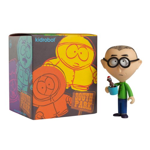 Kidrobot South Park Collectible Mini Figure (Styles Will (Towelie South Park)