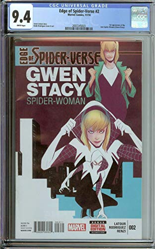 EDGE OF SPIDER-VERSE #2 CGC 9.4 WHITE PAGES ()