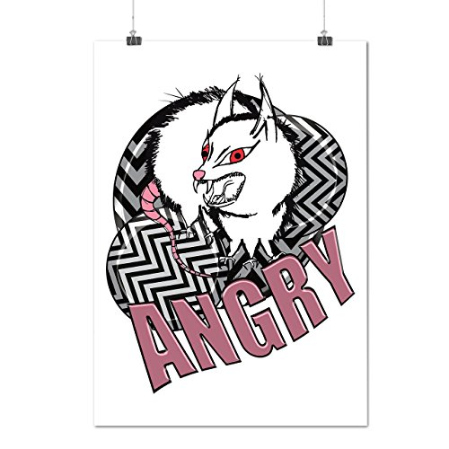 Monster Angry Animal Creature Matte/Glossy Poster A2 (17x24 inches) | Wellcoda