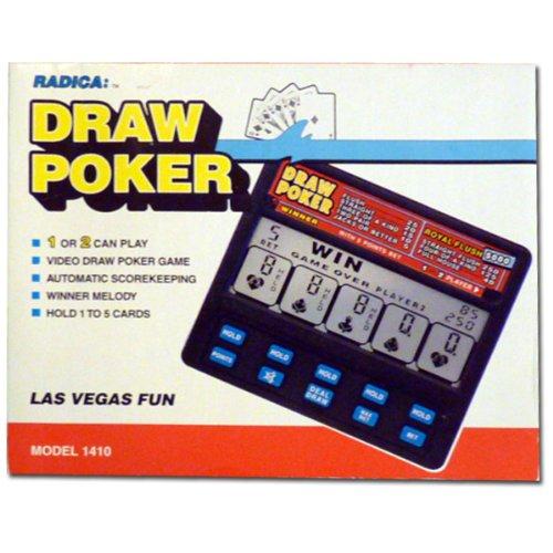 Radica Draw Poker 5000 Royal Flush Model 1410