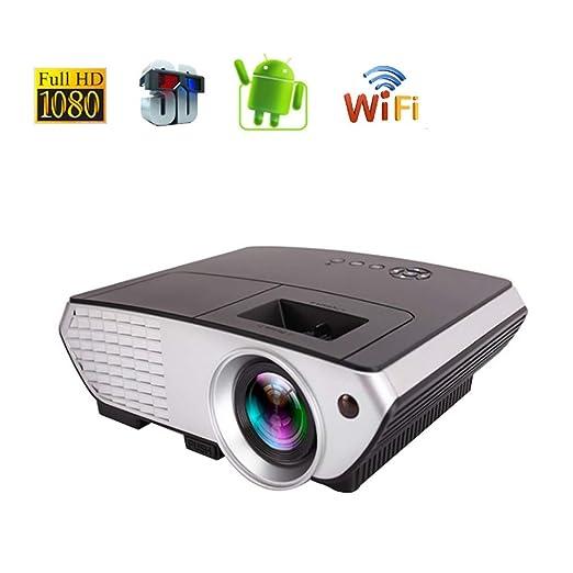 YTDDD Proyector, proyector de Video portátil Inteligente de ...