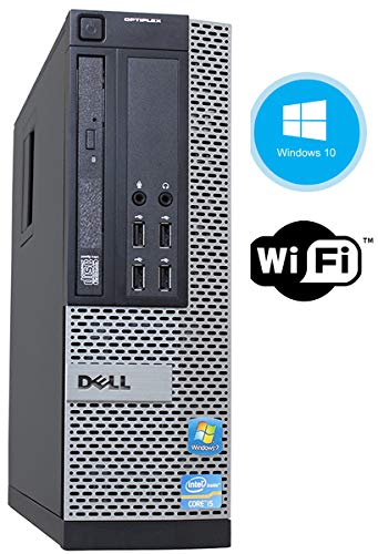 Dell Optiplex 9010 High Performance Flagship Business Desktop Computer, Intel Quad-Core i5, 16GB DDR3 RAM, 120GB Solid State Drive, DVD, Win 10 Pro (Renewed) (9010 16GB 120SSD)