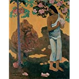 Canvas Prints Of Oil Painting ' The Month Of Mary,1899 By Paul Gauguin ' , 20 x 26 inch / 51 x 66 cm , High Quality Polyster Canvas Is For Gifts And Bath Room, Gym And Home Office Decoration, graphs