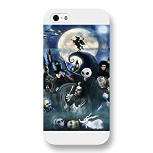 Disney Series For LG G2 Case Cover , The Nightmare Before Christmas For LG G2 Case Cover , Only Fit For LG G2 Case Cover (White Frosted Shell)