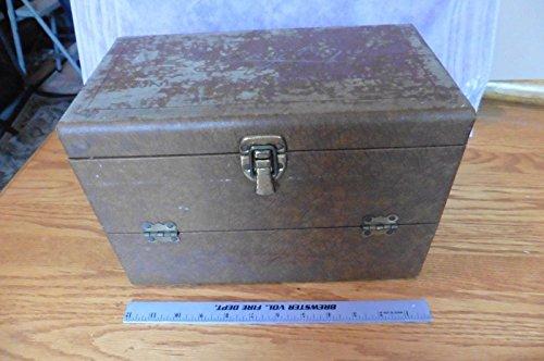 (Vintage Garcia Y Vega Washingtons Cordials fine Cigar Box Humidor Latch)