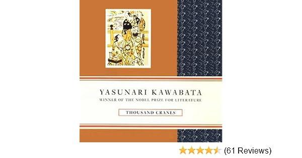 thousand cranes yasunari kawabata analysis
